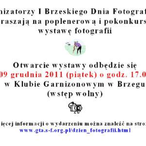 Wystawa I Brzeskiego Dnia Fotografii