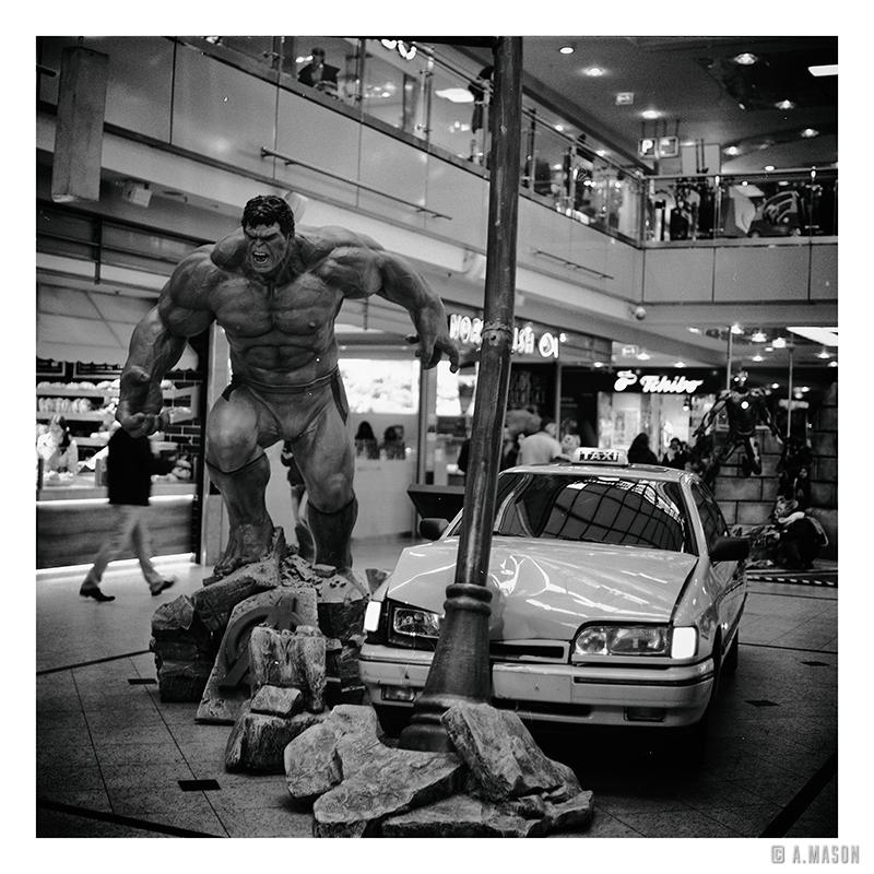 Hulk weWrocławiu