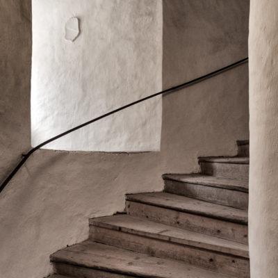 Schody i okno w Nachodzie