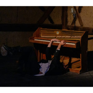 """Spektakl """"Król Dawid"""" w wykonaniu Sambora Dudzińskiego (13)"""