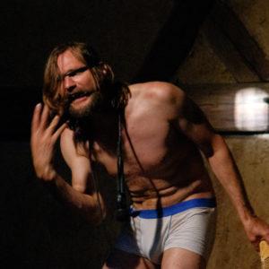 """Spektakl """"Król Dawid"""" w wykonaniu Sambora Dudzińskiego (39)"""