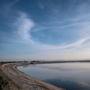 Błękitne niebo nad Jeziorem Nyskim