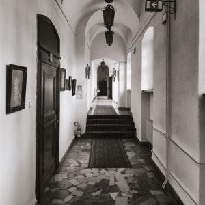 Zamkowy korytarz