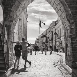 W sandomierskiej bramie