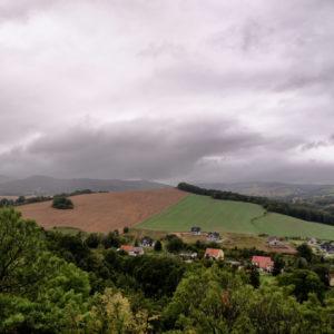 Widok z Zamku Bolków