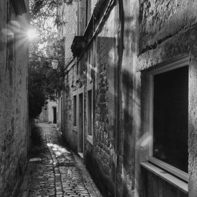 Zachód słońca w Trogirze