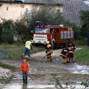 Strażacy przy pracy