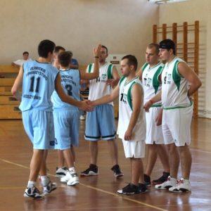 AZS Nysa – Gliwickie Towarzystwo Koszykówki – przywitanie
