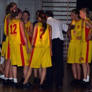 Trener udziela rad