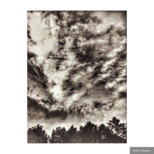 Chmury jak pożar