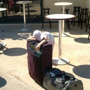 Zmęczenie po podróży