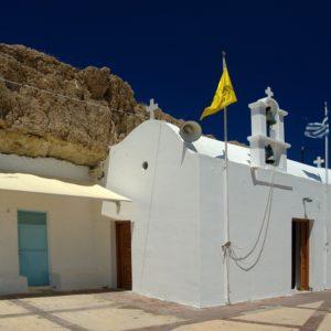 Kościółek przy porcie w Hersonissos