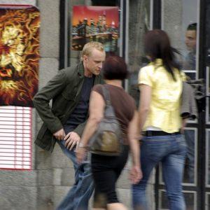 """Na planie serialu """"Naznaczony"""" (5) – Piotr Adamczyk"""