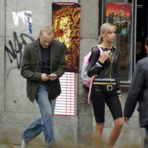 """Na planie serialu """"Naznaczony"""" (4) – Piotr Adamczyk"""