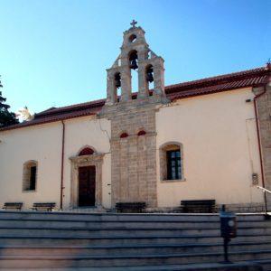 Kościółek na południu Krety