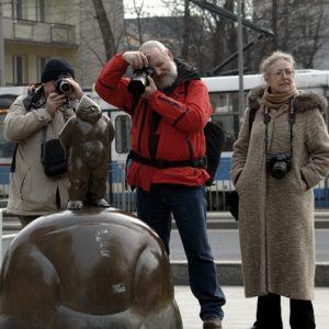 Fotografowie troje