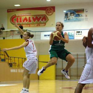 Odra Brzeg – Utex Row Rybnik (12) – Magdalena Gawrońska vs. Katarzyna Suknarowska