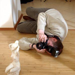 Adam – fotograf z poświęceniem