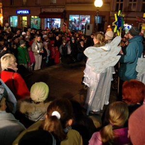 Rozświetlenie ul. Długiej w Brzegu (2)