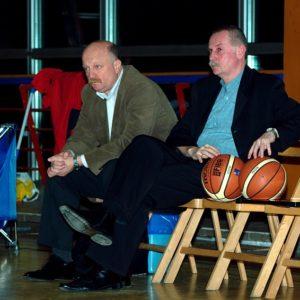 Trenerzy Leszek Marzec i Krzysztof Kubiak