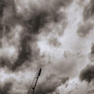 Niebo nad Stadionem Olimpijskim we Wrocławiu