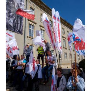 Protest dolnośląskiej Solidarności we Wrocławiu (23)