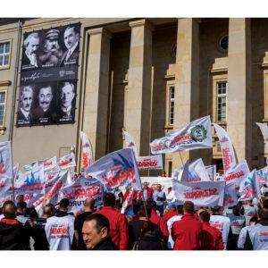 Protest dolnośląskiej Solidarności we Wrocławiu (24)