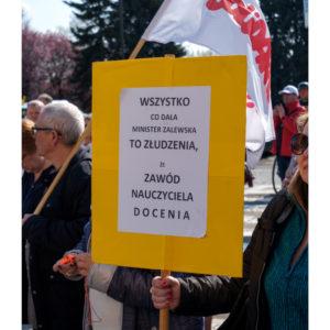 Protest dolnośląskiej Solidarności we Wrocławiu (27)