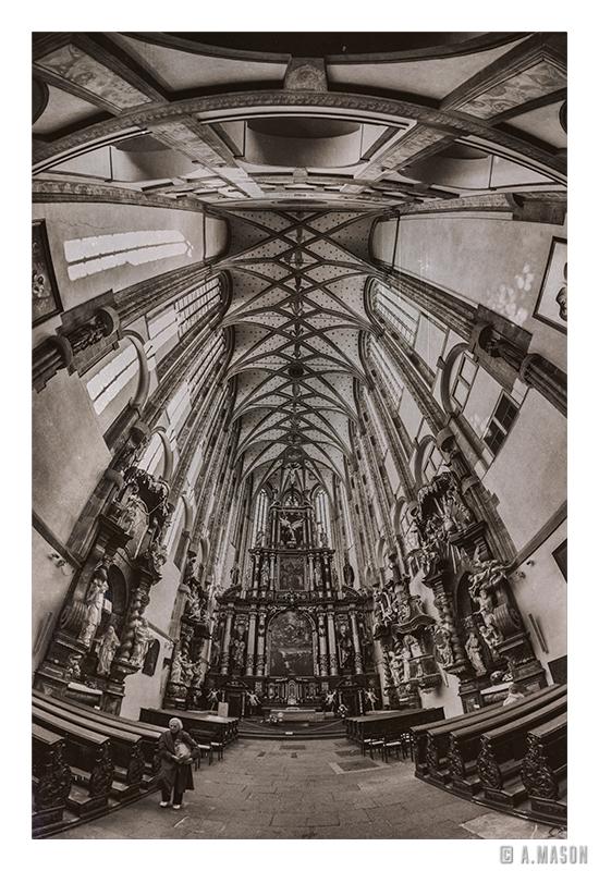 Kościół gdzieś wPradze