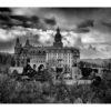 Panorama zZamkiem Książ