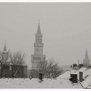 Panorama z wieżą Ratusza