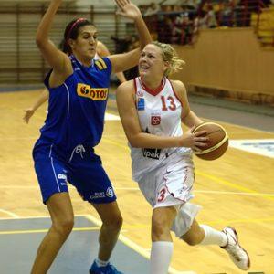 Odra Brzeg – Lotos Gdynia (11) – Justyna Daniel vs. Milka Bjelica