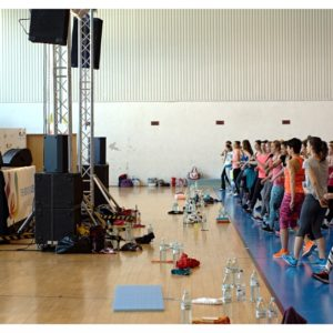 Fitness z Anną Lewandowską (2) – Katrin Kargbo
