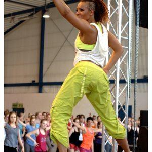 Fitness z Anną Lewandowską (5) – Katrin Kargbo
