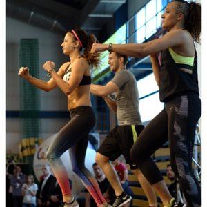 Fitness z Anną Lewandowską (7) – Katrin Kargbo i Anna Lewandowska