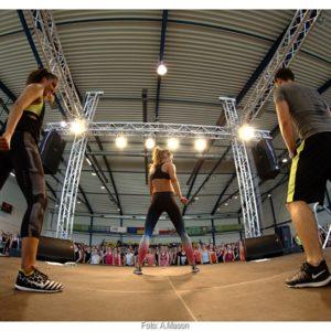 Fitness z Anną Lewandowską (10) – Katrin Kargbo i Anna Lewandowska