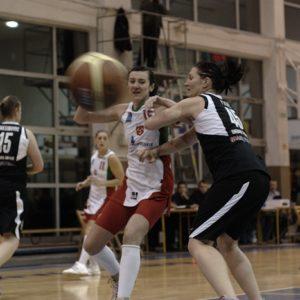 Odra Brzeg – Energa Toruń (21) – Ewelina Buszta vs. Julie Page