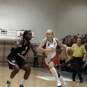 Odra Brzeg – Energa Toruń (26) – Bridgette Mitchell vs. Inna Kochubei