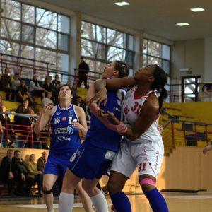 Odra Brzeg – INEA AZS Poznań (4) – Monique Alexander vs. Joanna Kędzia