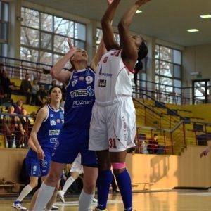 Odra Brzeg – INEA AZS Poznań (5) – Monique Alexander vs. Joanna Kędzia
