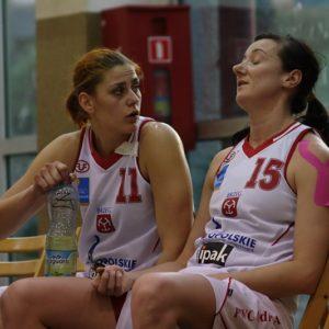Odra Brzeg – INEA AZS Poznań (11) – Marta Żyłczyńska i Ewelina Buszta