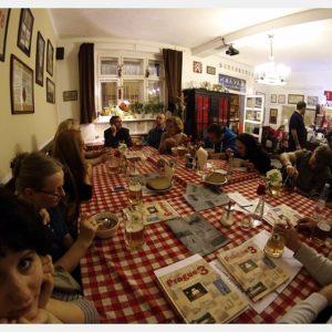 Spotkanie w restauracji Republika Žižkov (1)