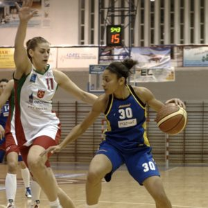Odra Brzeg – MUKS Poznań (18) – Marta Żyłczyńska vs. Ramona Casimiro