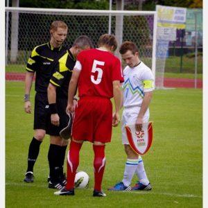 Polska-Słowenia U-18 (5) – rozpoczęcie meczu