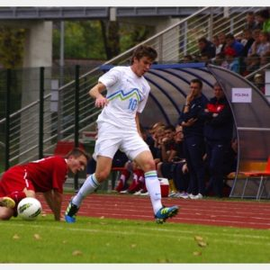 Polska-Słowenia U-18 (9) – Domen Crinkov