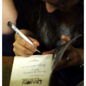 Martyna też autografowała