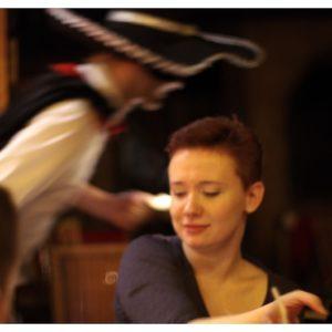 Marta Kisiel zaskoczona przez Zorro