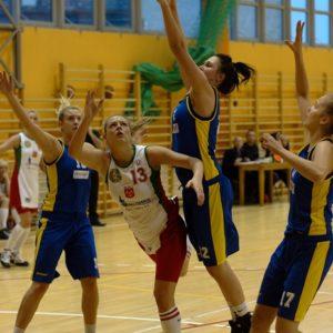 Stal Odra Brzeg – MUKS Poznań (10) – Justyna Daniel vs. Aneta Burandt