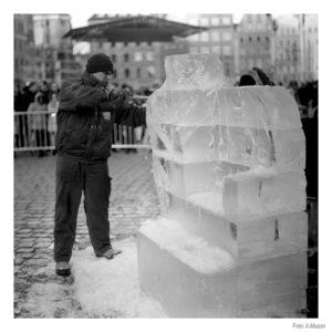 Budowa lodowego tronu