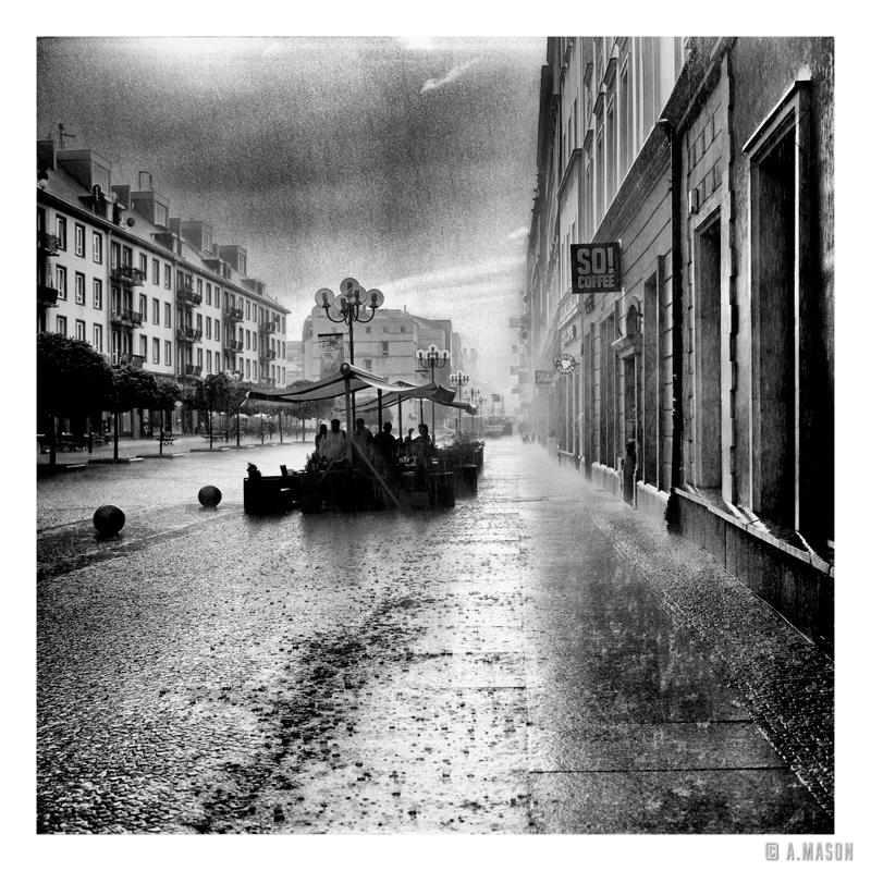 I photograph in the rain II